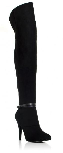 Σουέντ μπότες πάνω από το γόνατο Karalyn-Nina New York (219€)