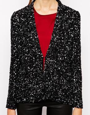 Μπλέιζερ με παγιέτες The Dress Gallery (156,40€-asos.com)