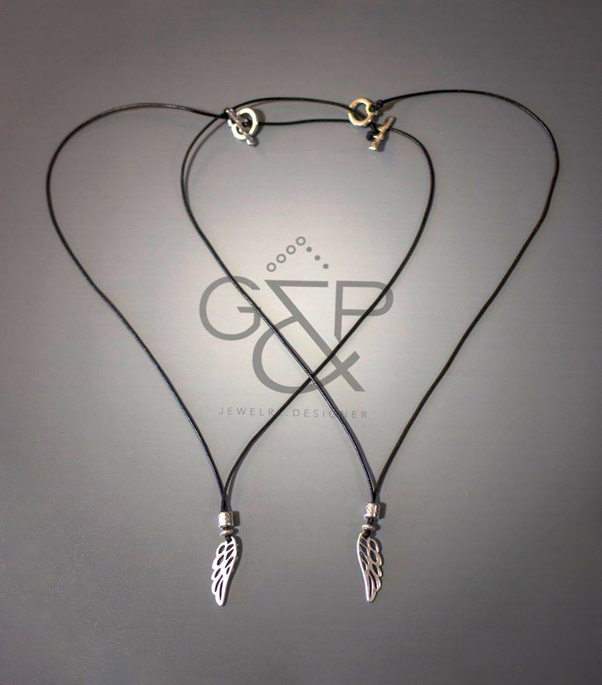 Necklace Silver Wing (Mens & Womens)
