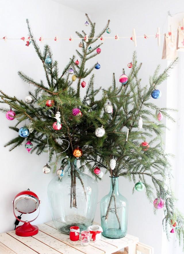 οικονομικό χριστουγεννιάτικο ντεκόρ